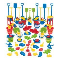 dantoy® Sandspielzeug, Sandspiel Sortiment KIGA Packung 84 Teile