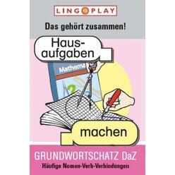 Grundwortschatz DaZ - Das gehört zusammen!, Kartenspiel, ab 7 Jahre