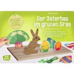 Erzählschiene Bastelset - Der Osterhas im grünen Gras, ab 2 Jahre
