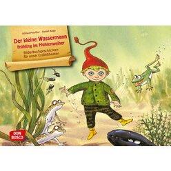 Kamishibai Bildkartenset - Der kleine Wassermann – Frühling im Mühlenweiher, 3-8 Jahre