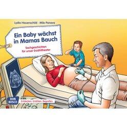 Kamishibai Bildkartenset - Ein Baby wächst in Mamas Bauch, 4-8 Jahre