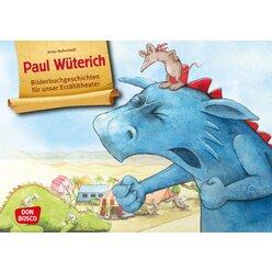 Kamishibai Bildkartenset - Paul Wüterich, 3 bis 6 Jahre
