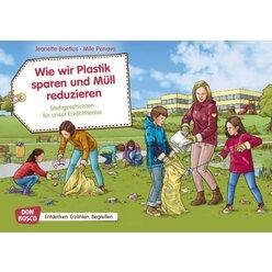 Kamishibai Bildkartenset - Wie wir Plastik sparen und Müll reduzieren, 4 bis 8 Jahre