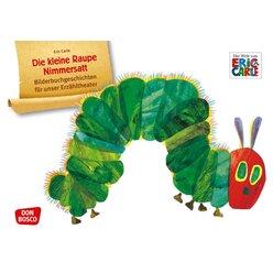 Kamishibai Bildkartenset - Die kleine Raupe Nimmersatt, 2-8 Jahre