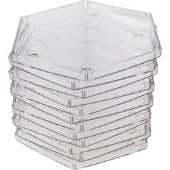 Prismo 22cm-Legerahmen, 6er-Set transparent