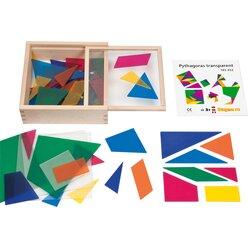 Pythagoras transparent, ab 3 Jahre