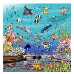 Vokabel-Puzzles Korallenriff, ab 4 Jahre