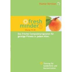 Fresh Minder 3 Home Software, 1-Platz Lizenz - Übungen 15-29 auf CD-Rom