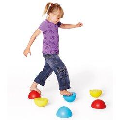 Gonge® Kunststoffhalbkugeln farbig, 6er-Set, ab 3 Jahre