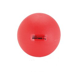 Gymnic Heavymed 1000 gr, Medizinball, 12 cm, rot