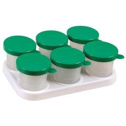 Kunststoffhalter mit 6 Farbtöpfen 320 ml
