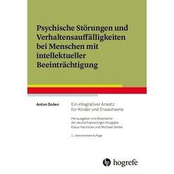 Psychische Störungen und Verhaltensauffälligkeiten bei Menschen mit intellektueller Beeinträchtigung, Buch