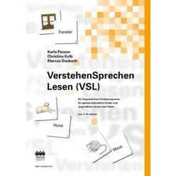 VSL–VerstehenSprechenLesen Förderprogramm, Kartensätze, 2-16 Jahre