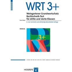 WRT 3+ Weingartener Grundwortschatz Rechtschreib-Test für dritte + vierte Klassen