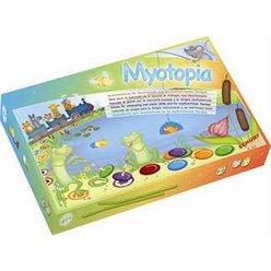 Myotopia - Spielesammlung für Mundmotorik und die myofunktionelle Therapie, 4-9 Jahre