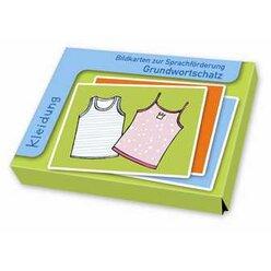 Grundwortschatz - Kleidung, Bildkarten zur Sprachförderung, 2-6 Jahre