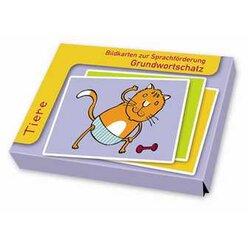 Bildkarten zur Sprachförderung - Grundwortschatz: Tiere