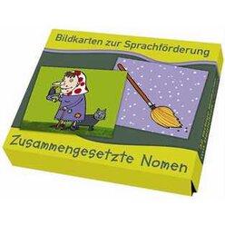 Bildkarten zur Sprachförderung - Zusammengesetzte Nomen, 3-7 Jahre