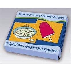 Bildkarten zur Sprachförderung - Adjektive: Gegensatzpaare, 3-7 Jahre