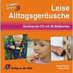 Leise Alltagsgeräusche, Audio-CD/Bildkarten, 5-10 Jahre