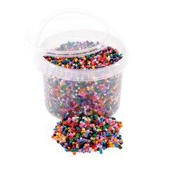 Bügelperlen-Eimer farblich sortiert, 20.000 Stück