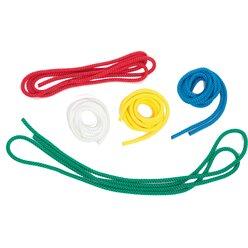 Gymnastik-Springseil 3m, gelb (4 Stück)