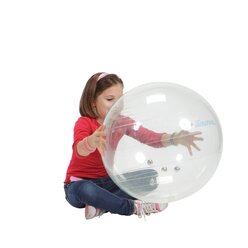 Gymnic Jinglin Ball 55cm, transparent