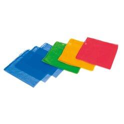 Jongliertücher - 4 Farben 138 x 138 cm, 4er-Set, rot, blau, gelb, grün