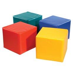 Pänz Spiel- und Sitzwürfel gelb, 50 x 45 cm
