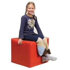 Pänz Spiel- und Sitzwürfel rot, 50 x 45 cm