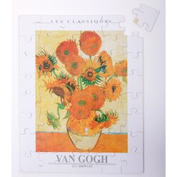 Sonnenblumen von van Gogh, Holzpuzzle