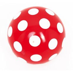 TOGU® Punktball 23 cm, rot-weiß