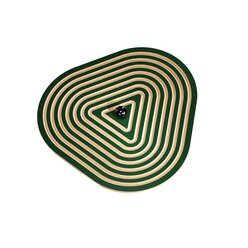 Wandkreisel Triangel, grün, Ø 62,5 cm