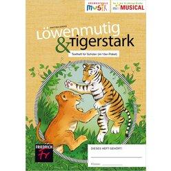 Löwenmutig & Tigerstark: Schülerhefte im 10er Paket, Grundschule
