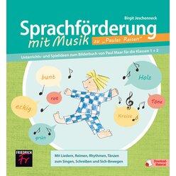 Sprachförderung mit Musik zu Paulas Reisen, Buch, 1.-2. Klasse