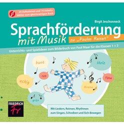 Sprachförderung mit Musik zu Paulas Reisen, CD-ROM, 1.-2. Klasse