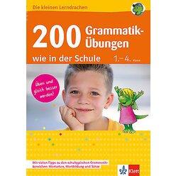 Die kleinen Lerndrachen - 200 Grammatikübungen wie in der Schule, Buch, 1.-4. Klasse