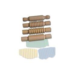 Musterrollen für Knete, 4 Stück