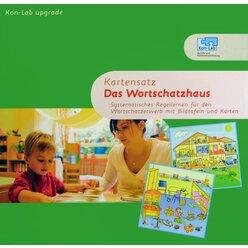 Kon-Lab Kartensatz Das Wortschatzhaus, 0-5 Jahre