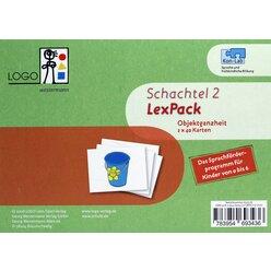Kon-Lab LexPack Schachtel 2 Objektganzheit, Puzzlekarten, 0-10 Jahre