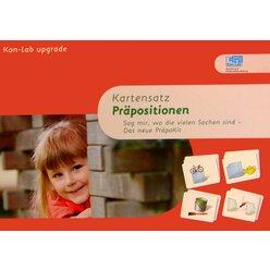Kon-Lab Kartensatz Präpositionen, 2-5 Jahre