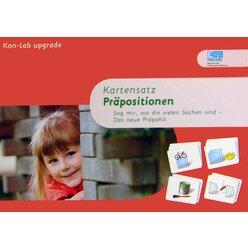 Kon-Lab Kartensatz Präpositionen, 0-10 Jahre