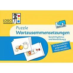 Kon-Lab Puzzle Wortzusammensetzungen, Sprachrhythmus und Wortbildung 5, 0-10 Jahre