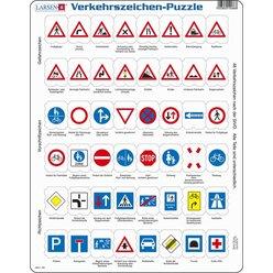 Larsen Lernpuzzle Verkehrszeichen
