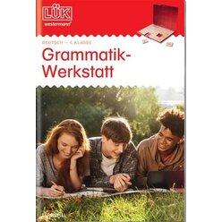 LÜK Grammatik Werkstatt, Heft,  4.Klasse