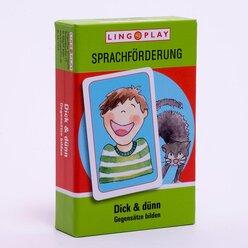 Dick & dünn: Spiel um Gegensätze, Schwarzer-Peter-Spiel, ab 4 Jahre