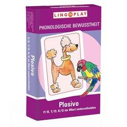 LingoCards Plosivo - T/D, P/B, K/G im Wort unterscheiden, ab 8 Jahre