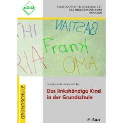 Das linkshändige Kind in der Grundschule, Buch