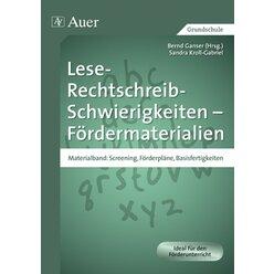Lese-Rechtschreib-Schwierigkeiten Fördermaterial 1, Buch