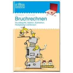LÜK Bruchrechnen, Doppelband mit Übungen, 5.-6. Klasse